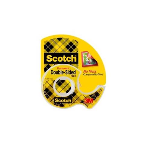 Scotch D Sided Tape 237 Bx12